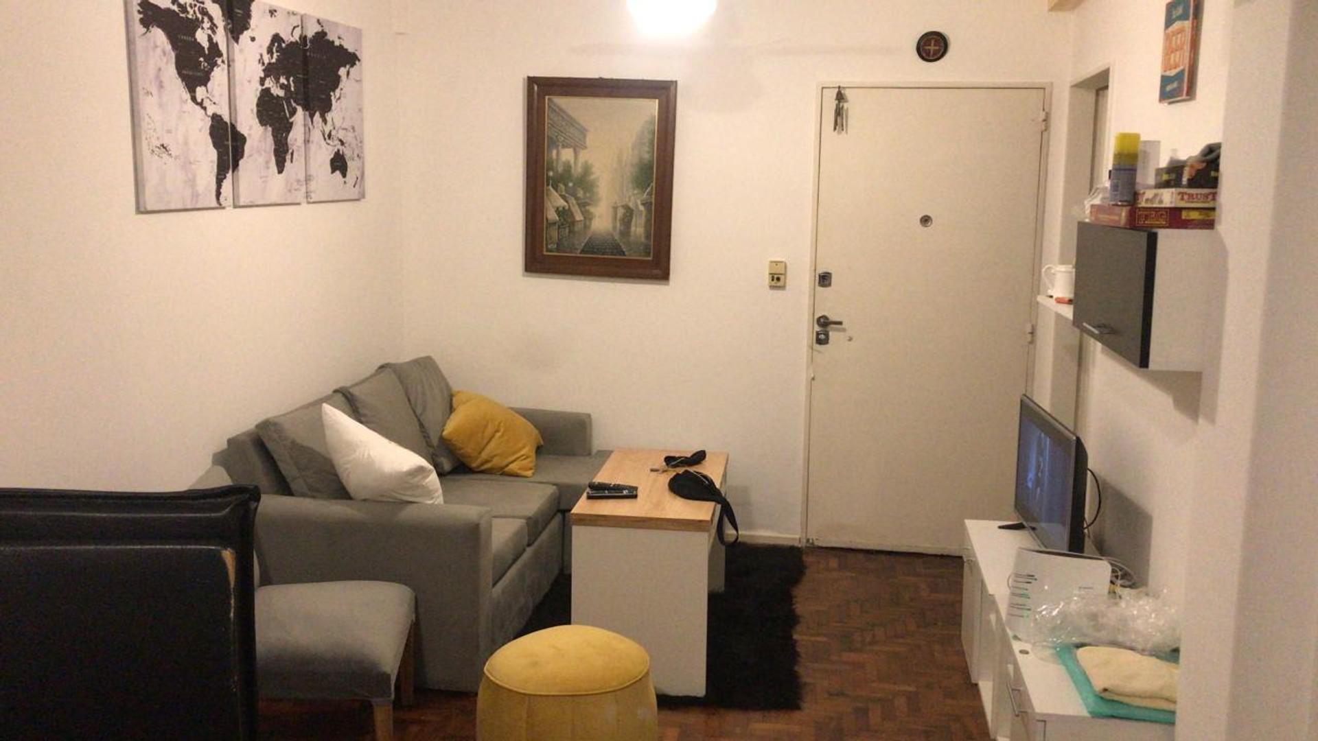 MUY BUEN MONOAMBIENTE de 35 m2.con PATIO en COLEGIALES