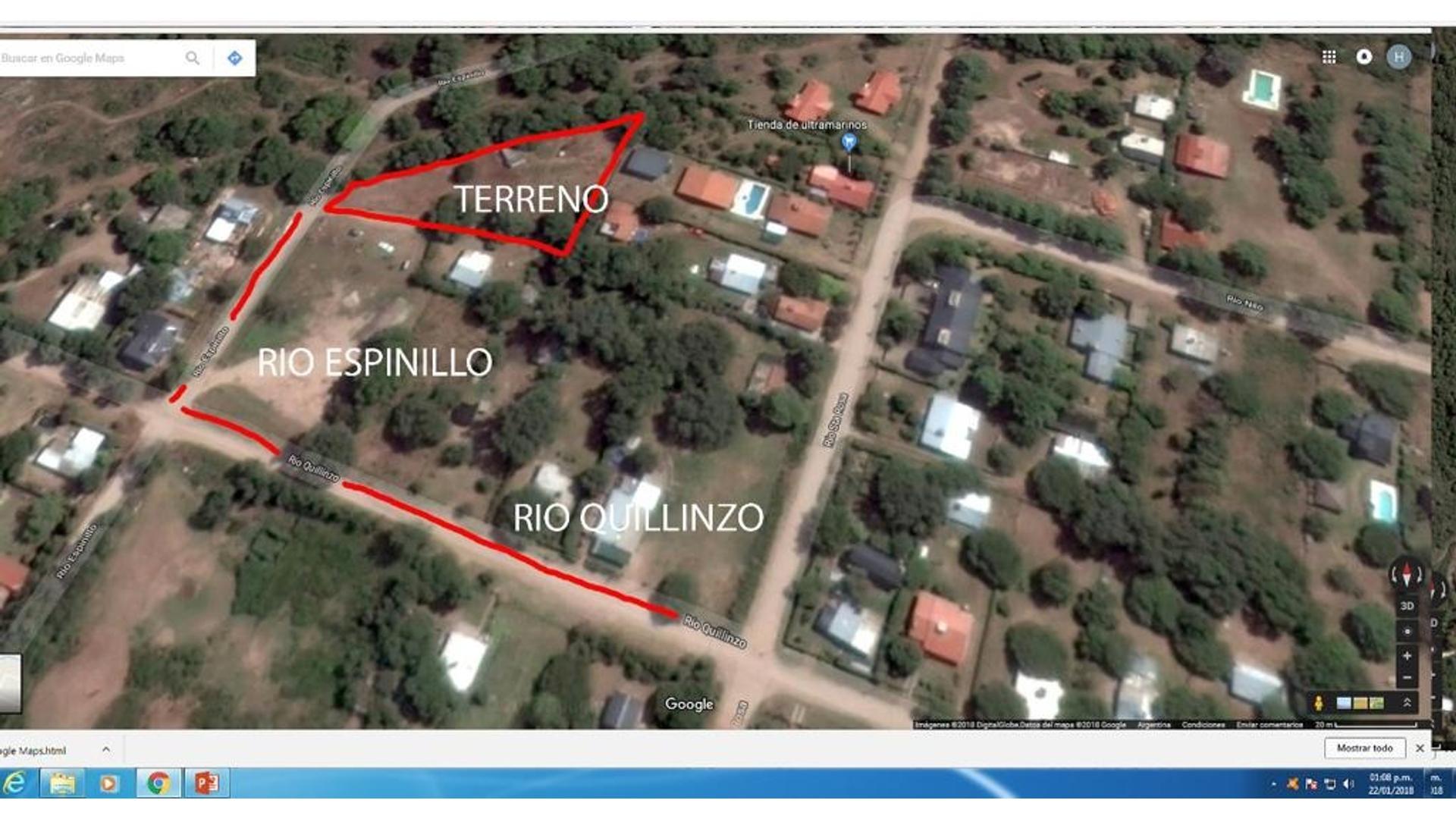 Villa General Belgrano 100 - U$D 43.000 - Terreno en Venta