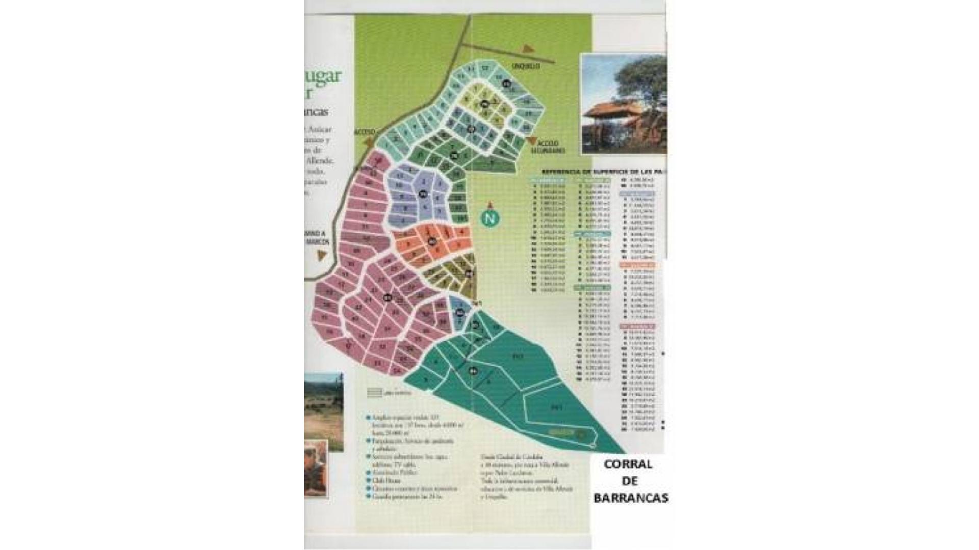 Country Corral De Barrancas A San Marcos Km. 1 1/2 100 - U$D 40.000 - Terreno en Venta