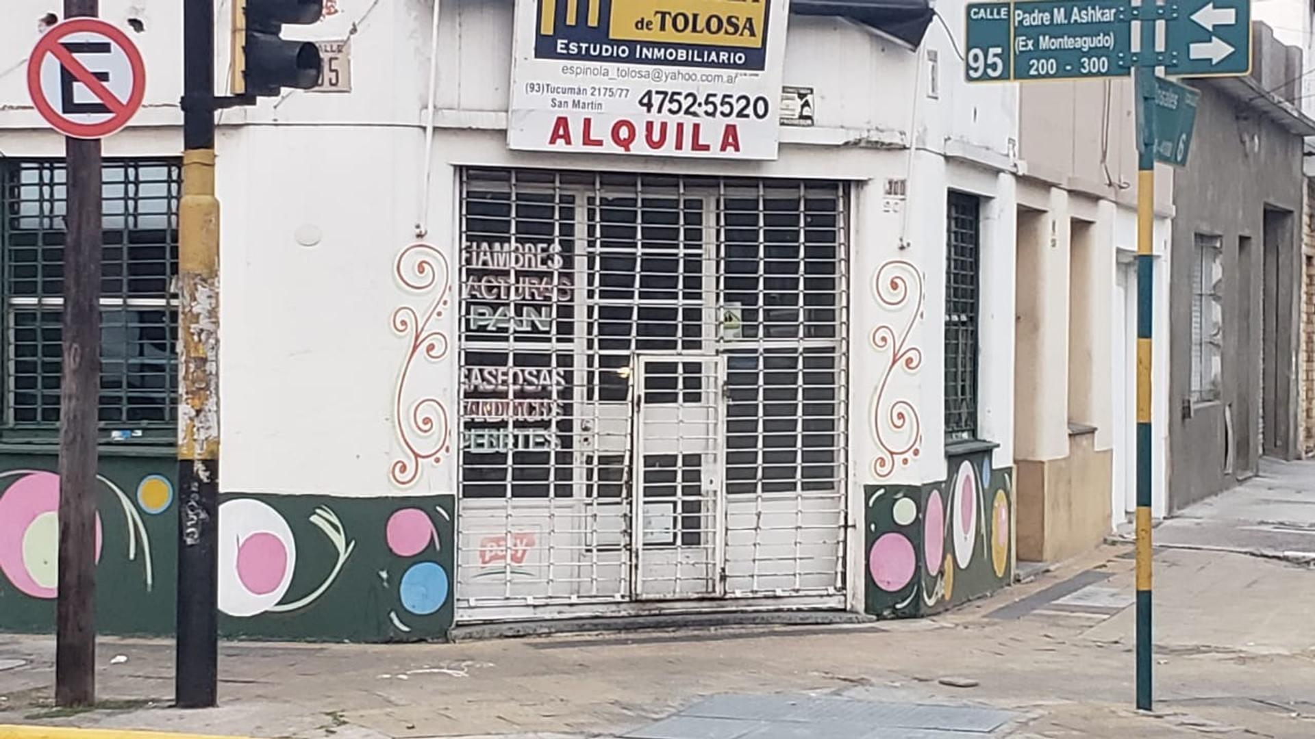 Rosales, Esq. Monteagudo 200 - $ 8.500 - Local Alquiler