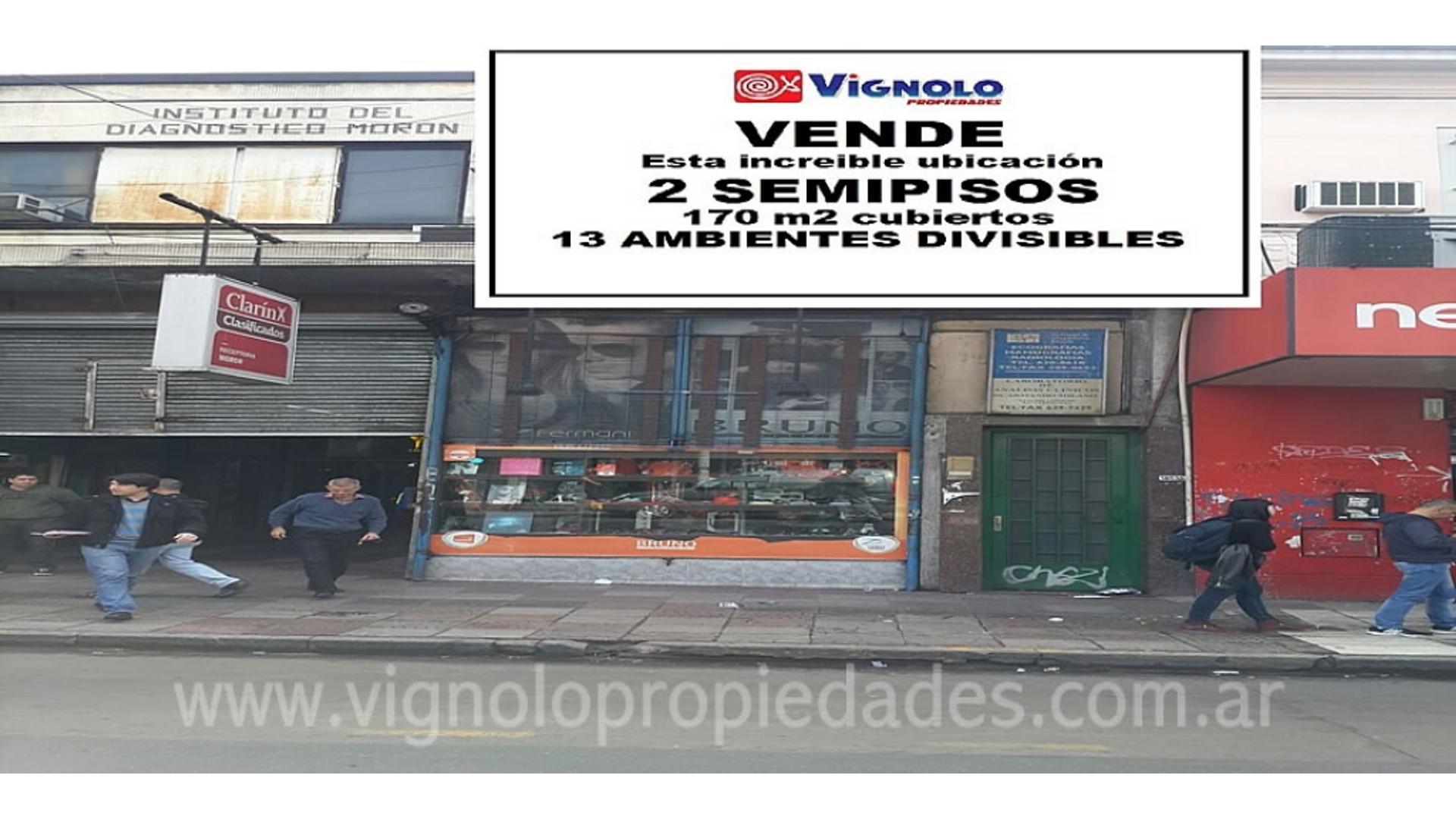 Av. Rivadavia 18000 - U$D 226.000 - Oficina en Venta