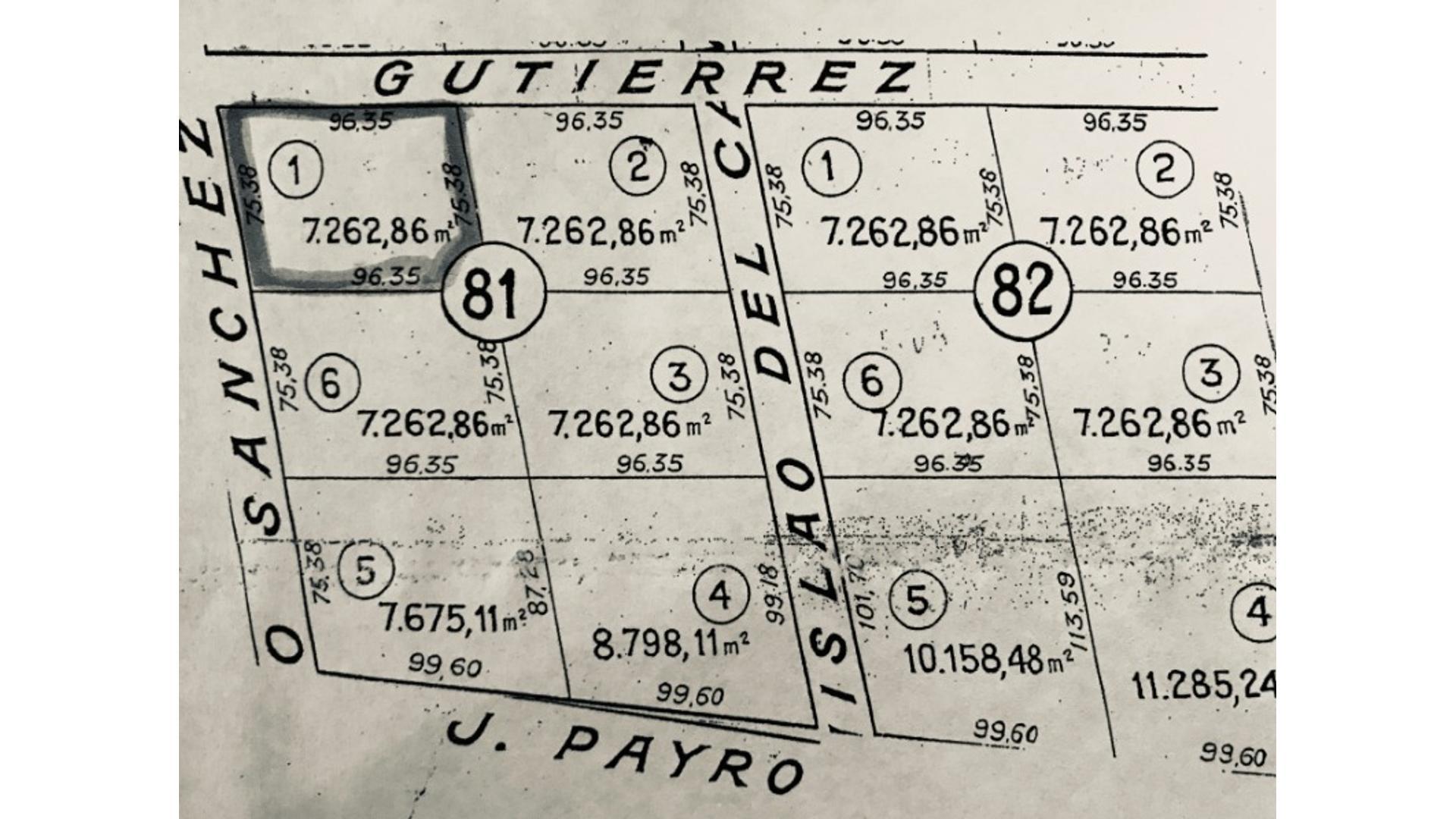 Florencio Sánchez 100 - U$D 38.000 - Campo en Venta