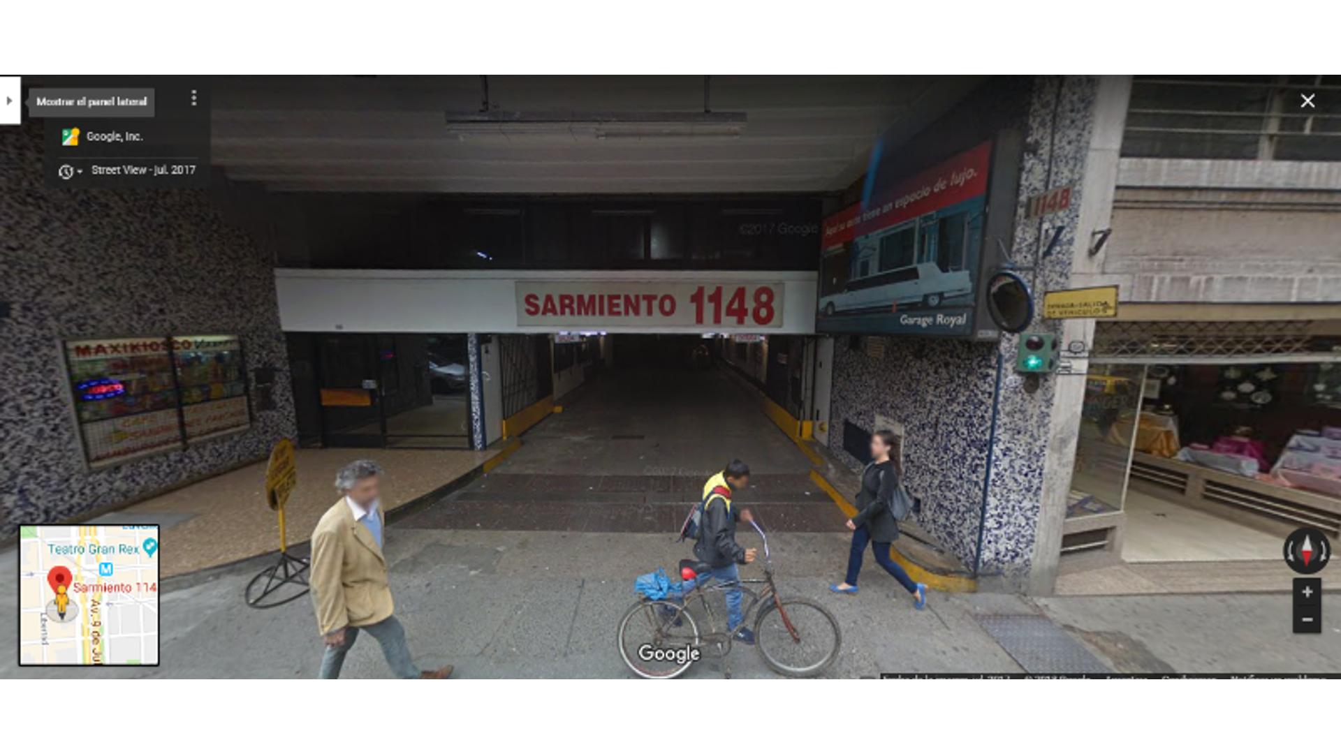 Sarmiento 1100 - U$D 28.000 - Cochera en Venta