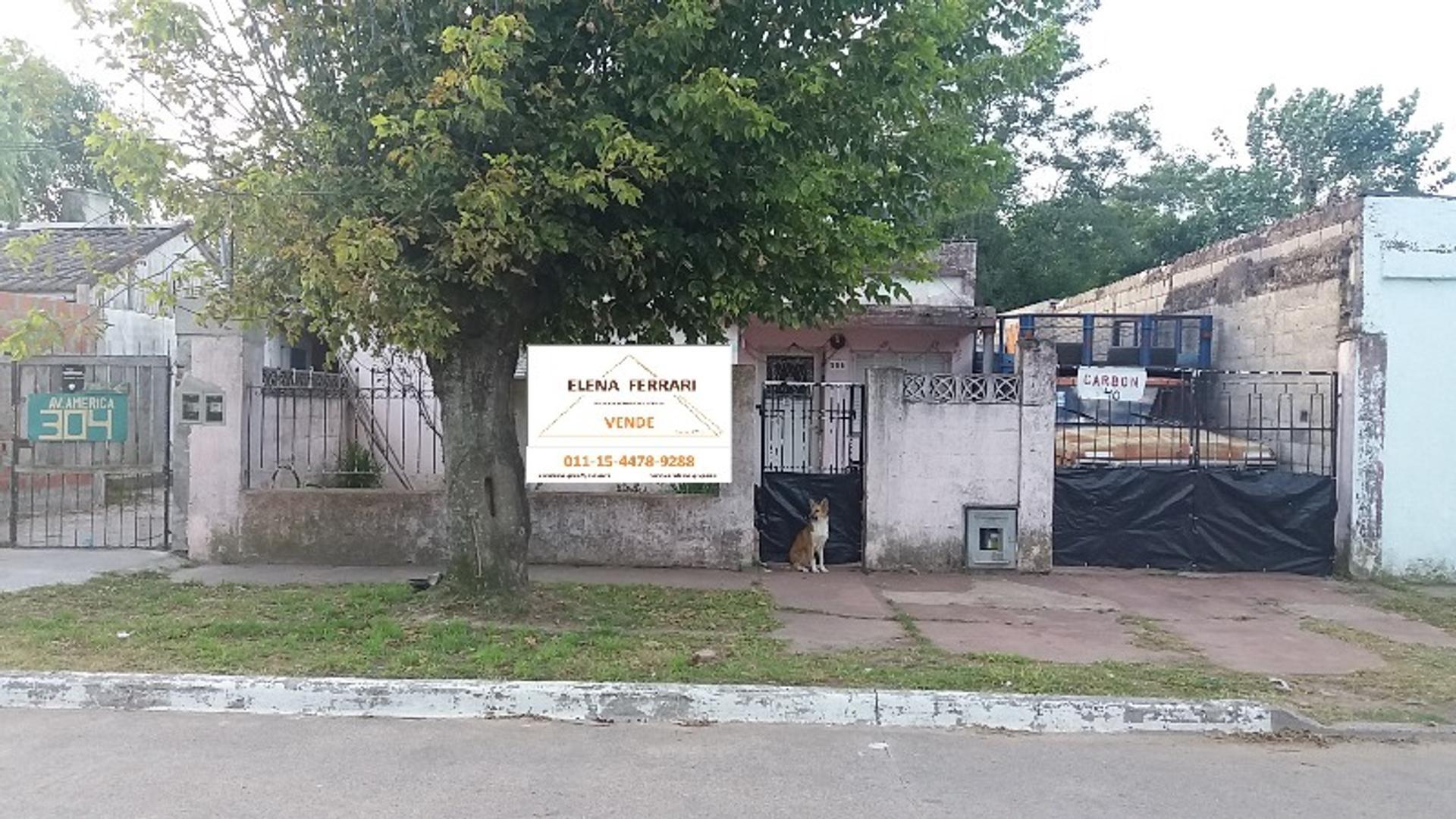 Avenida America 300 - U$D 58.000 - Casa en Venta